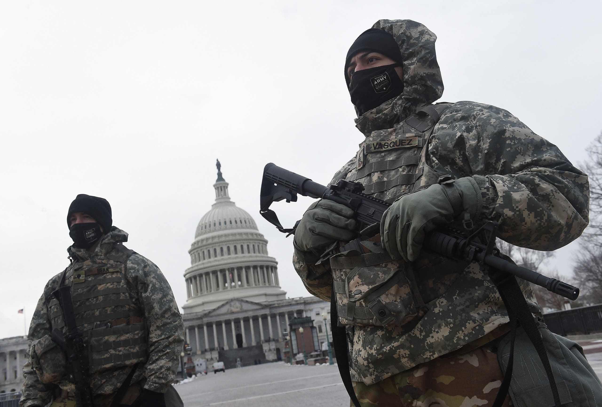 تدابیر امنیتی در واشنگتن