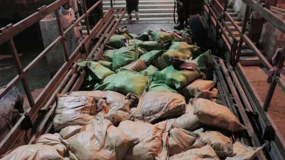 ضبط أكبر كمية مخدرات شرق اليمن