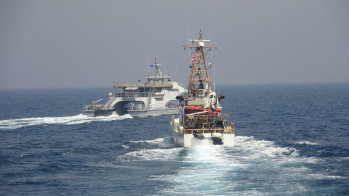 زوارق للحرس الثوري تتحرش بسفينة حربية أميركية في الخليج