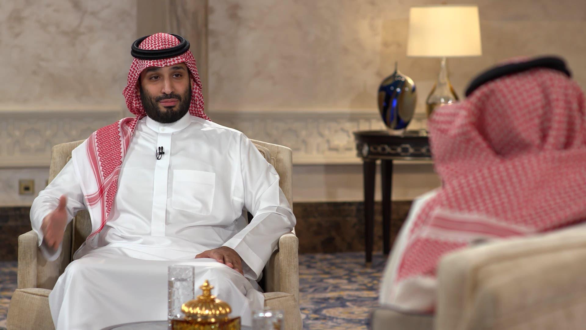 Mohammed bin Salman interview with Rotana Clip6
