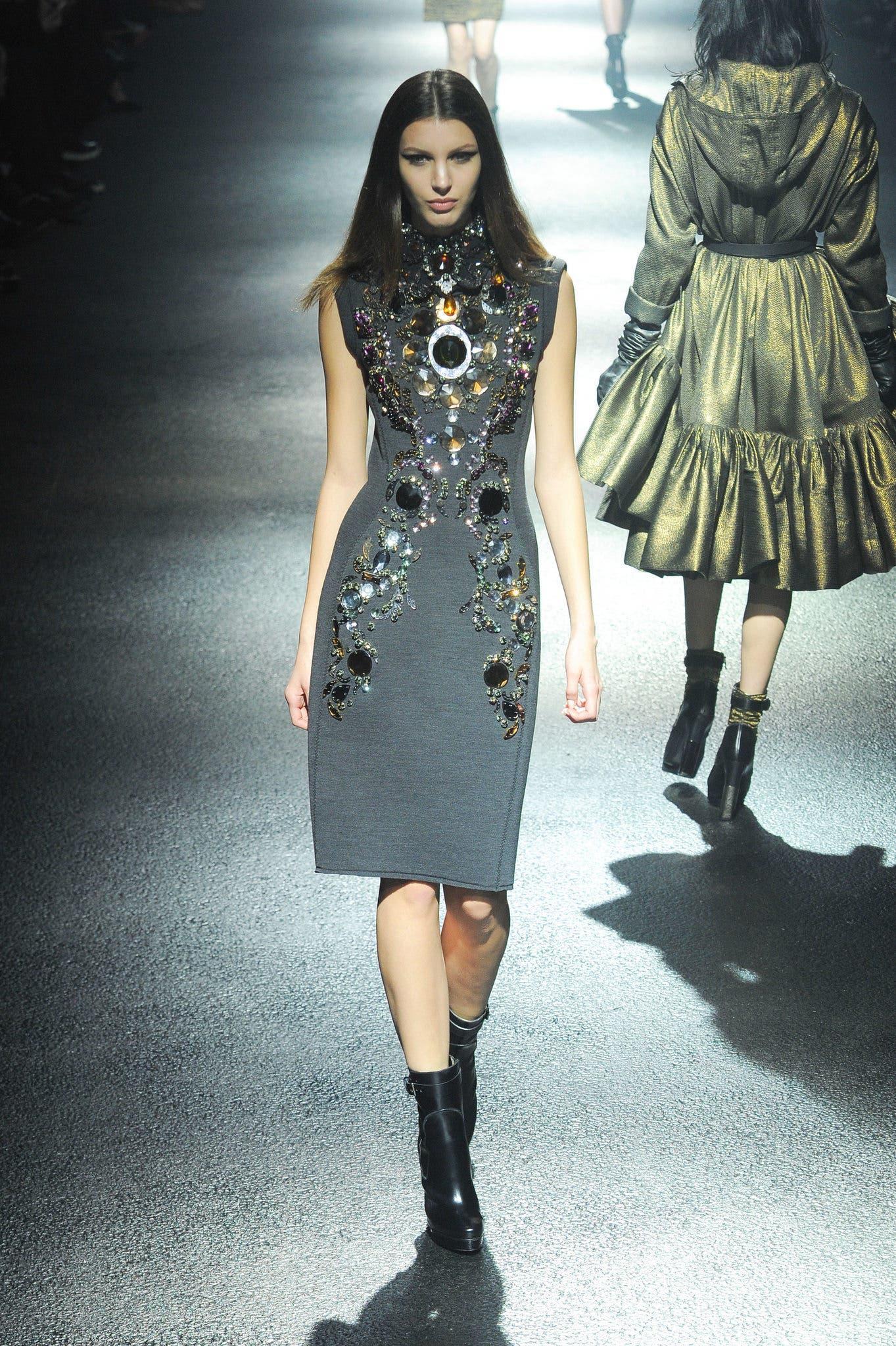 الثوب الجوهرة من مجموعة لانفان لخريف2012