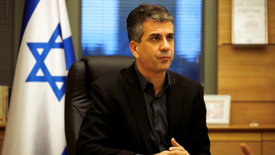 وزير المخابرات الإسرائيلي إيلي كوهين (أرشيفية من رويترز)
