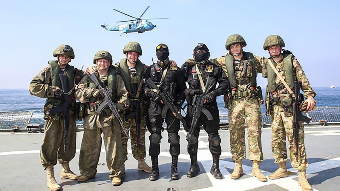 سربازان روس در نزدیکی مرز اوکراین