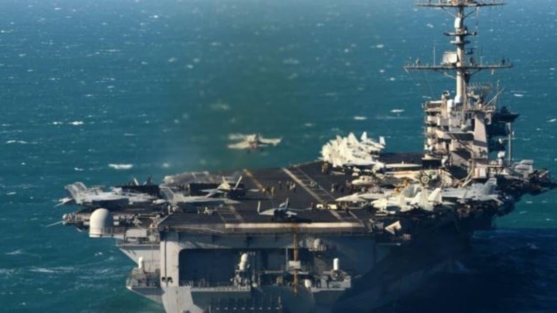 ناو آمریکایی در آب های خلیج