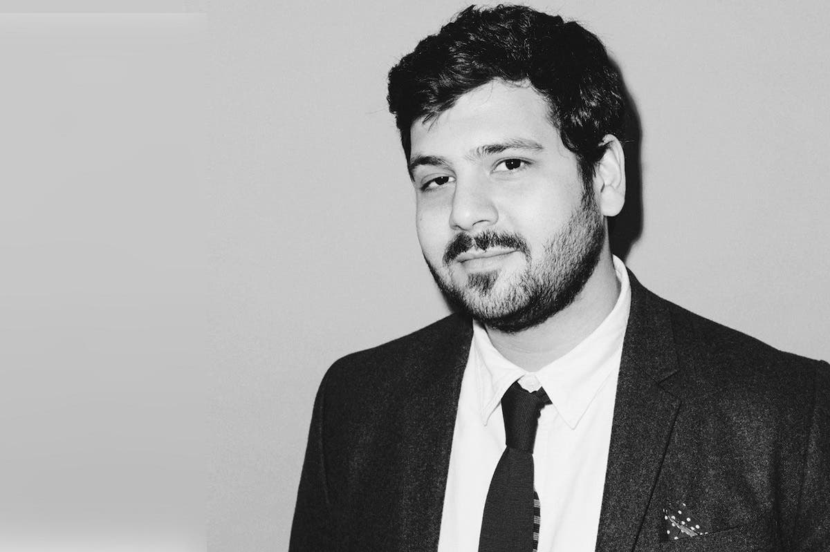 Omar Kholeif, Director of Collections and Senior Curator, Sharjah art Foundation. (Eric T. White)