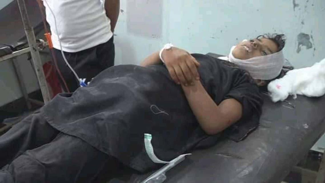 الطفلة مواهب علي حسن التي التي توفيت بقذيفة حوثية في تعز في 28 ابريل 2021 اليمن الحوثي الحوثيين