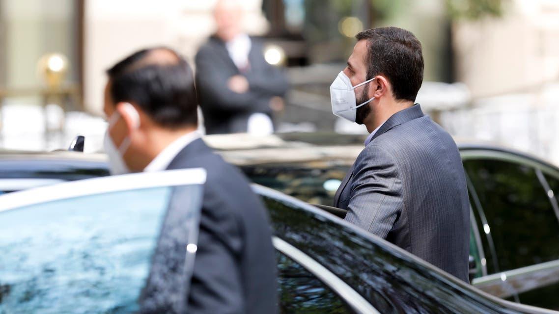 الوفد الإيراني إلى محادثات فيينا حول الاتفاق النووي (أسوشييتد برس)