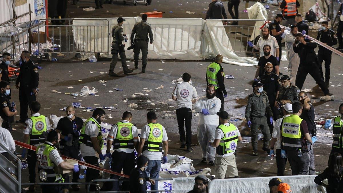 كارثة تدافع في احتفال ديني بإسرائيل.. عدد ضخم من القتلى