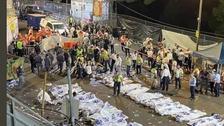اسرائیل : مذہبی اجتماع کے دوران بھگدڑ ، 44 افراد ہلاک اور 150 زخمی