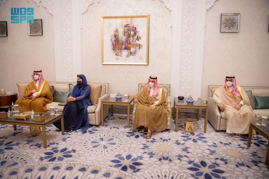 دیدار ولیعهد سعودی و فرستاده ویژه آمریکا به یمن