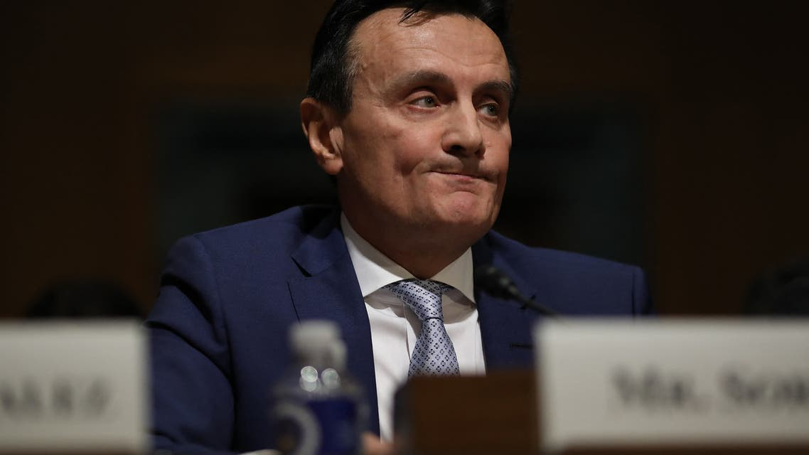 Pascal Soriot, executive director and CEO of AstraZeneca, testifies before the Senate Finance Committee on Drug Pricing in America: A Prescription for Change, Part II February 26, 2019 in Washington, DC. (File photo: AFP)