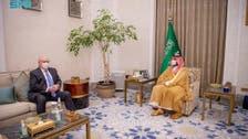 سعودی ولی عہد کی امریکی خصوصی ایلچی سے ملاقات ، یمن کی صورت حال پر بات چیت