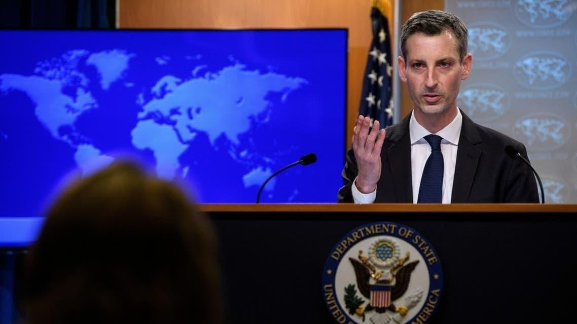 المتحدث باسم الخارجية الأميركية نيد برايس