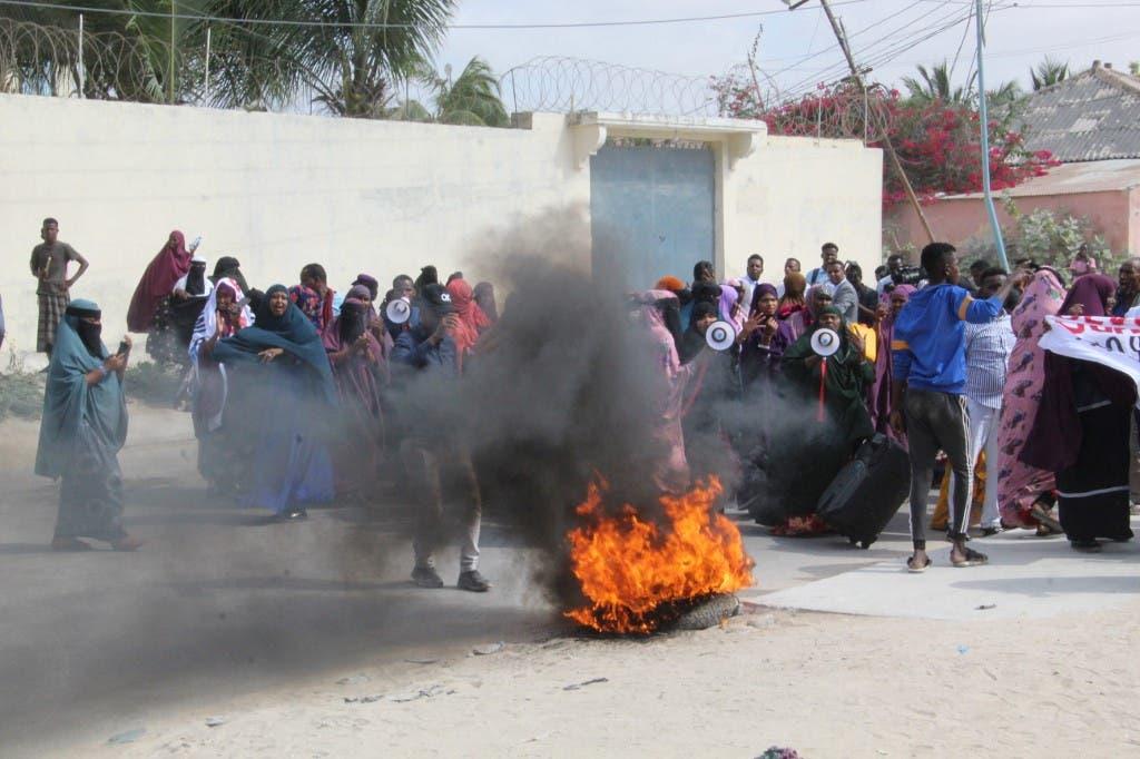 مظاهرات ضد فرماجو في الصومال - أرشيفية