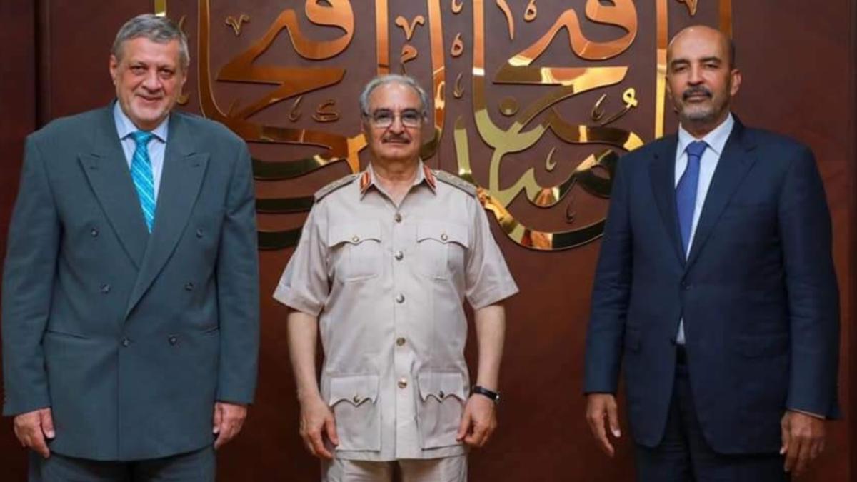 لقاء ثلاثي في ليبيا.. الجيش والأمم المتحدة والمجلس الرئاسي