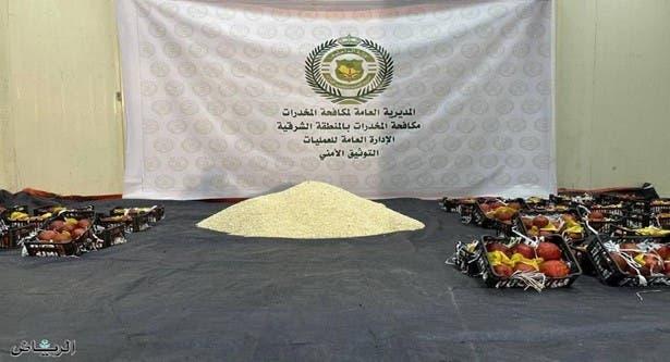 مواد مخدر که با محموله محصولات کشاورزی از لبنان به سعودی ارسال شده بود