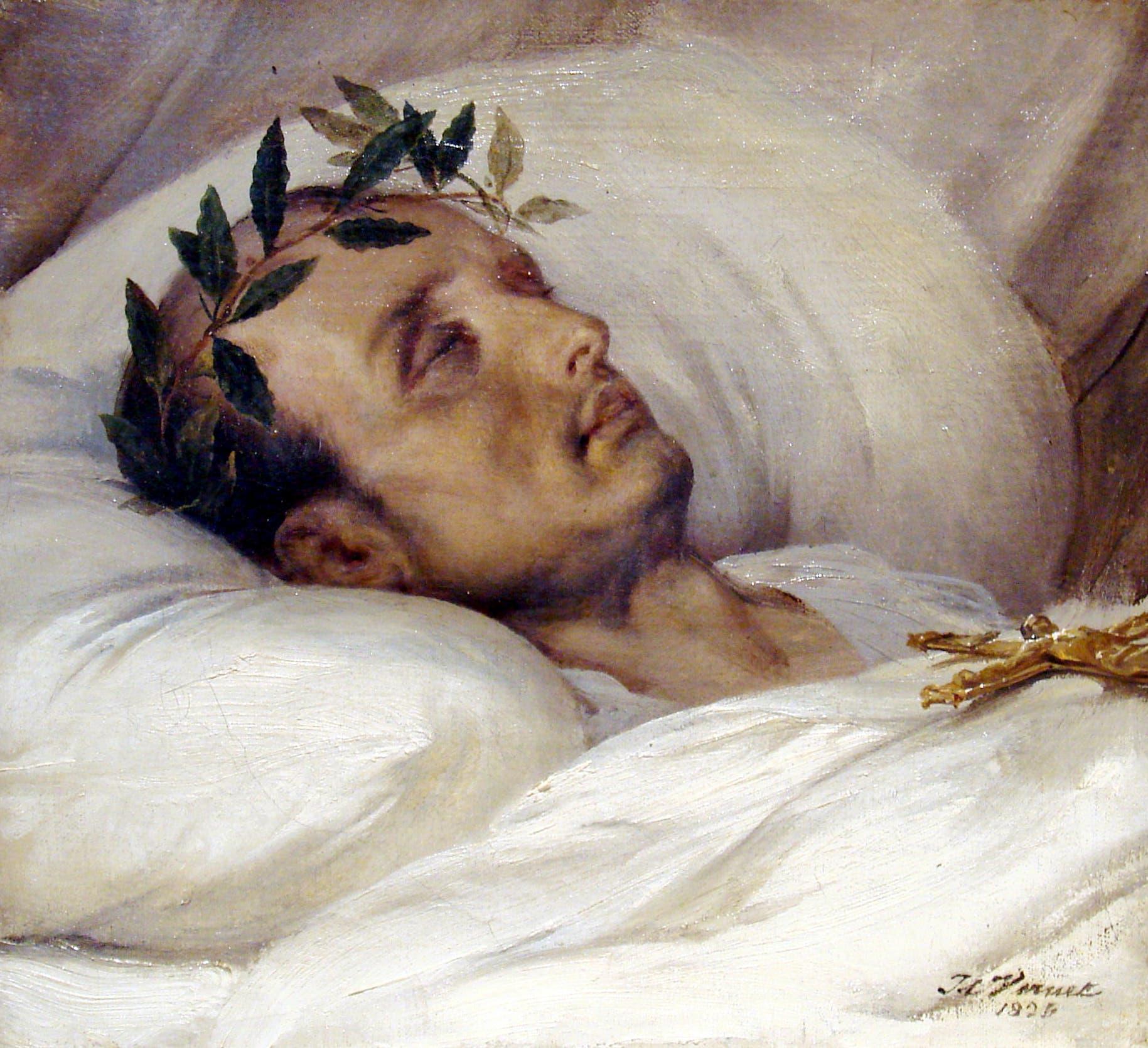 لوحة تجسد نابليون بونابرت ميتا