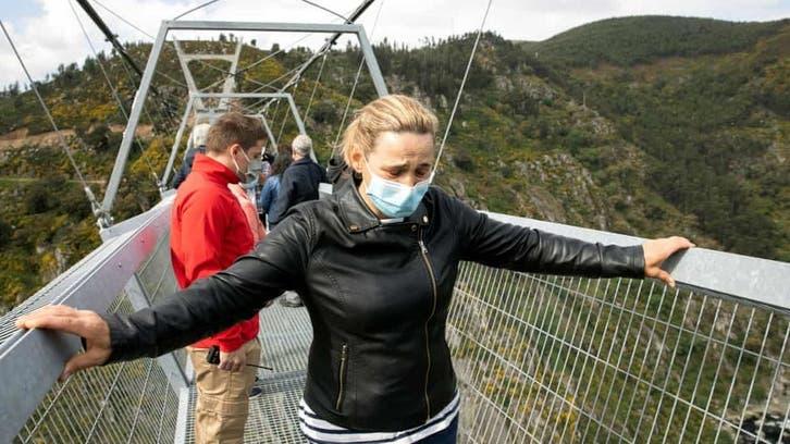 ویدیو؛ طولانیترین پل معلق جهان در پرتغال افتتاح شد