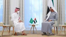 سعودی وزیرخارجہ کا ابوظبی کے ولی عہد سے علاقائی اور عالمی صورت حال پرتبادلہ خیال