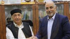 رئيس برلمان ليبيا يلتقي وفداً حكومياً.. ويتسلم مشروع الميزانية الجديد