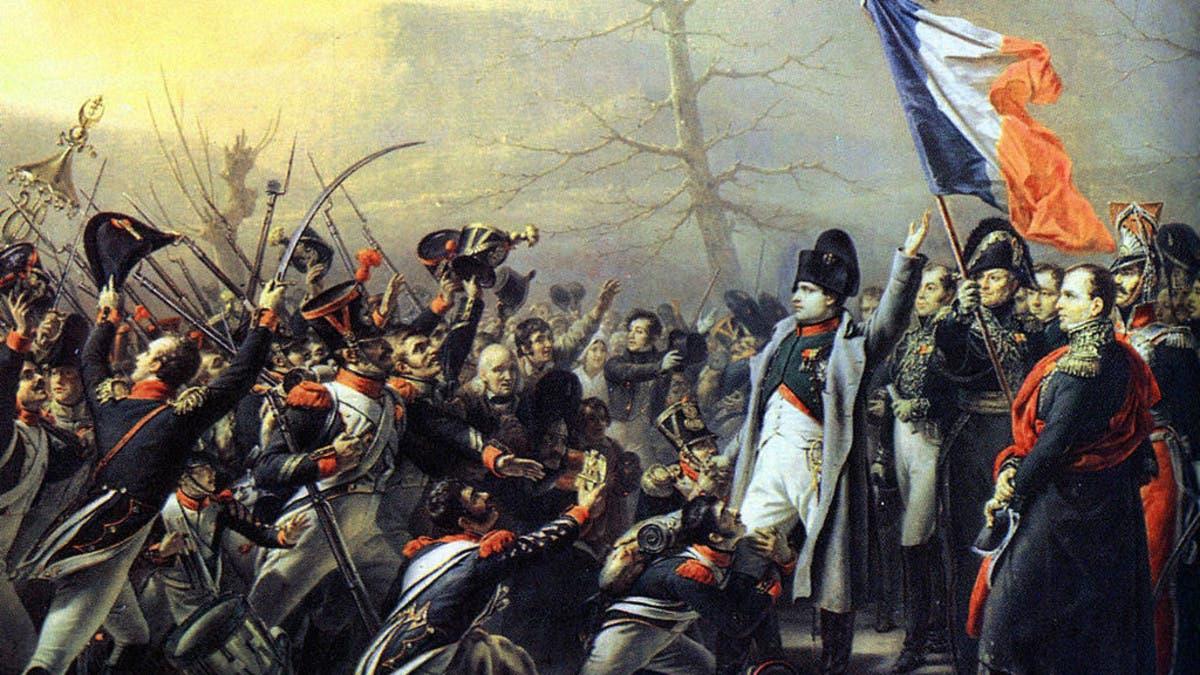 دون إراقة للدماء.. استعاد نابليون عرشه لمدة 100 يوم