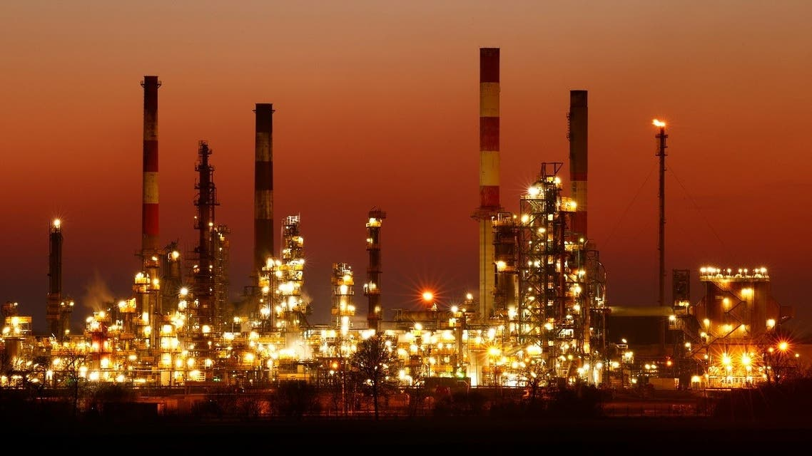 An oil refinery belonging to Total in France. (Reuters)