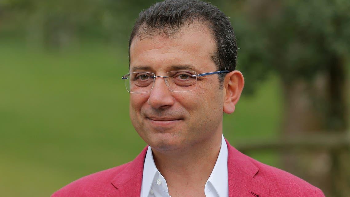 Istanbul Mayor Ekrem Imamoglu is pictured in Istanbul, Turkey, September 8, 2019. (Reuters)
