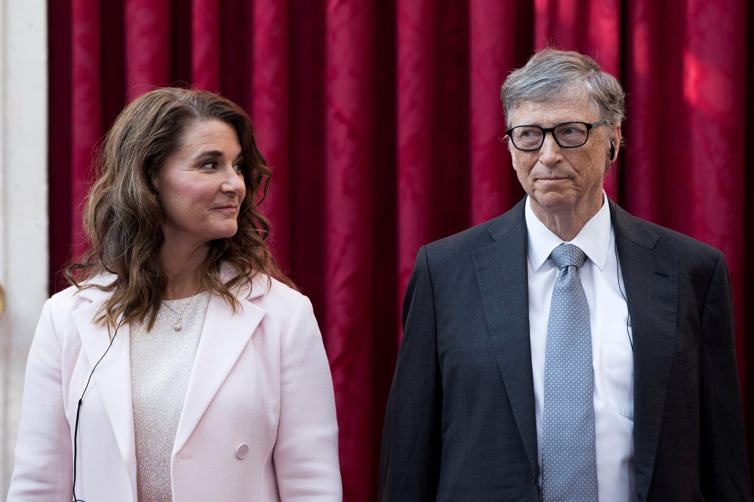 بيل ومليندا غيتس (أرشيفية من رويترز)