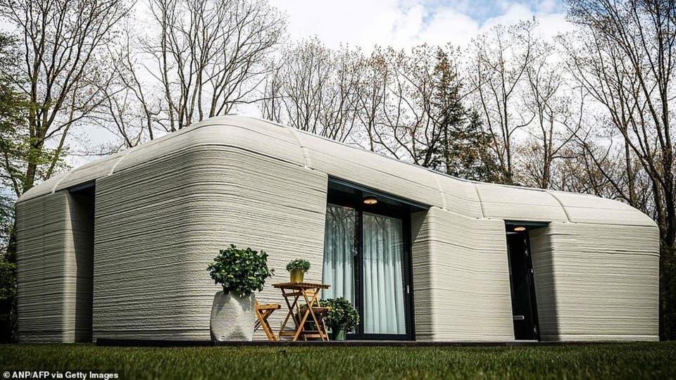 أول منزل في أوروبابتقنية ثلاثية الأبعاد.. لن تصدق كم استغرق تنفيذه!