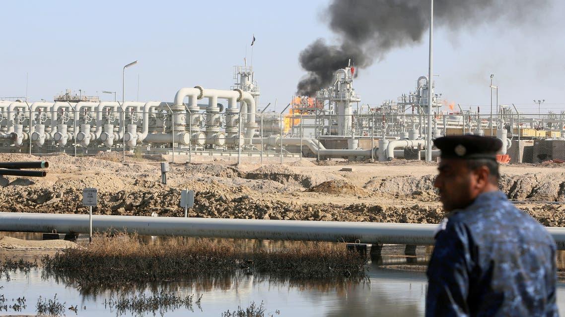 حقل غرب القرنة 1 النفطي جنوب العراق