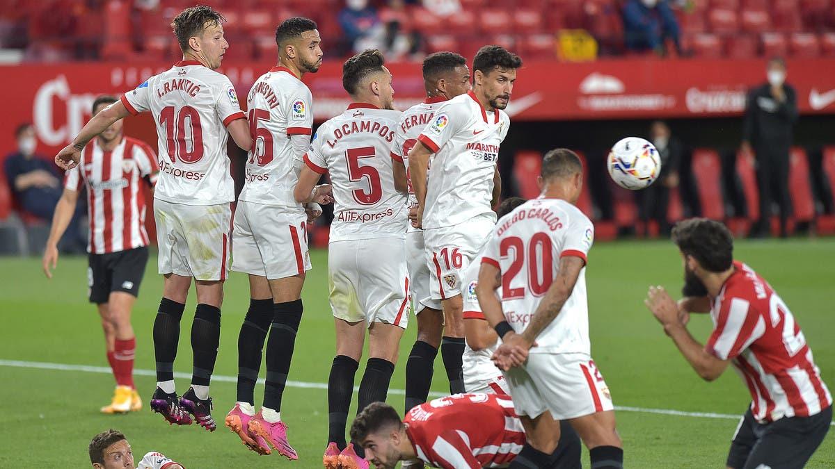 بلباو يحبط آمال إشبيلية في الفوز بالدوري الإسباني