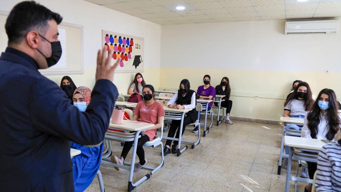 إحدى مدارس العراق - فرانس برس
