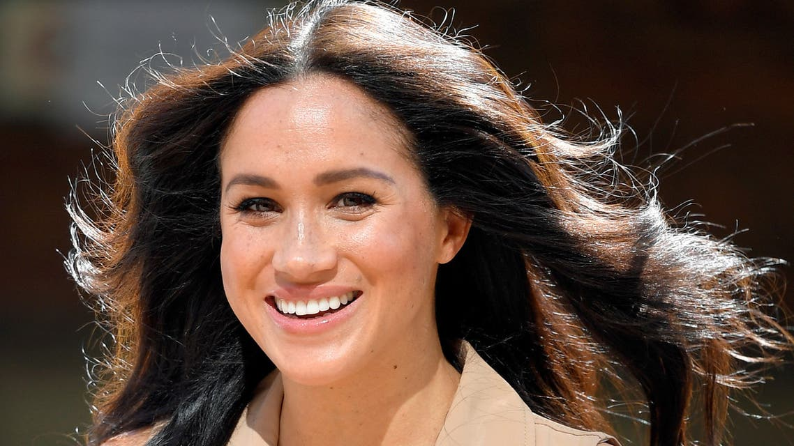 Britain's Meghan Markle, Duchess of Sussex, arrives to meet academics and students during a roundtable discussion on female access to higher education with the Association of Commonwealth Universities, at the University of Johannesburg, Johannesburg, South Africa, October 1, 2019. (Reuters)