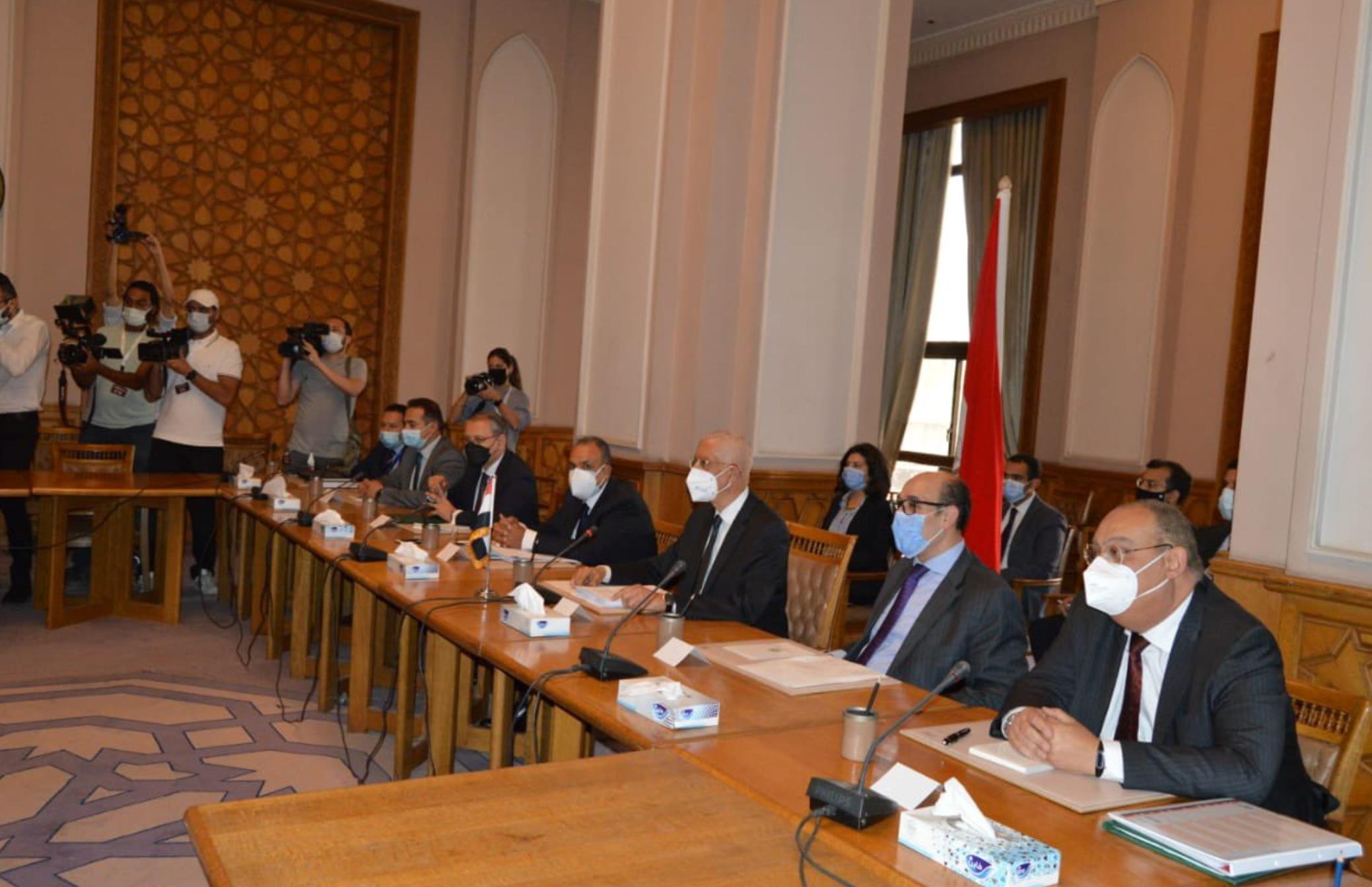 اجتماعات مصر وتركيا