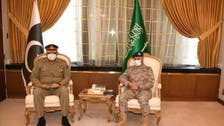 پاکستان اور سعودی فوجی قیادت کا اہم دفاعی امور پر تبادلہ خیال