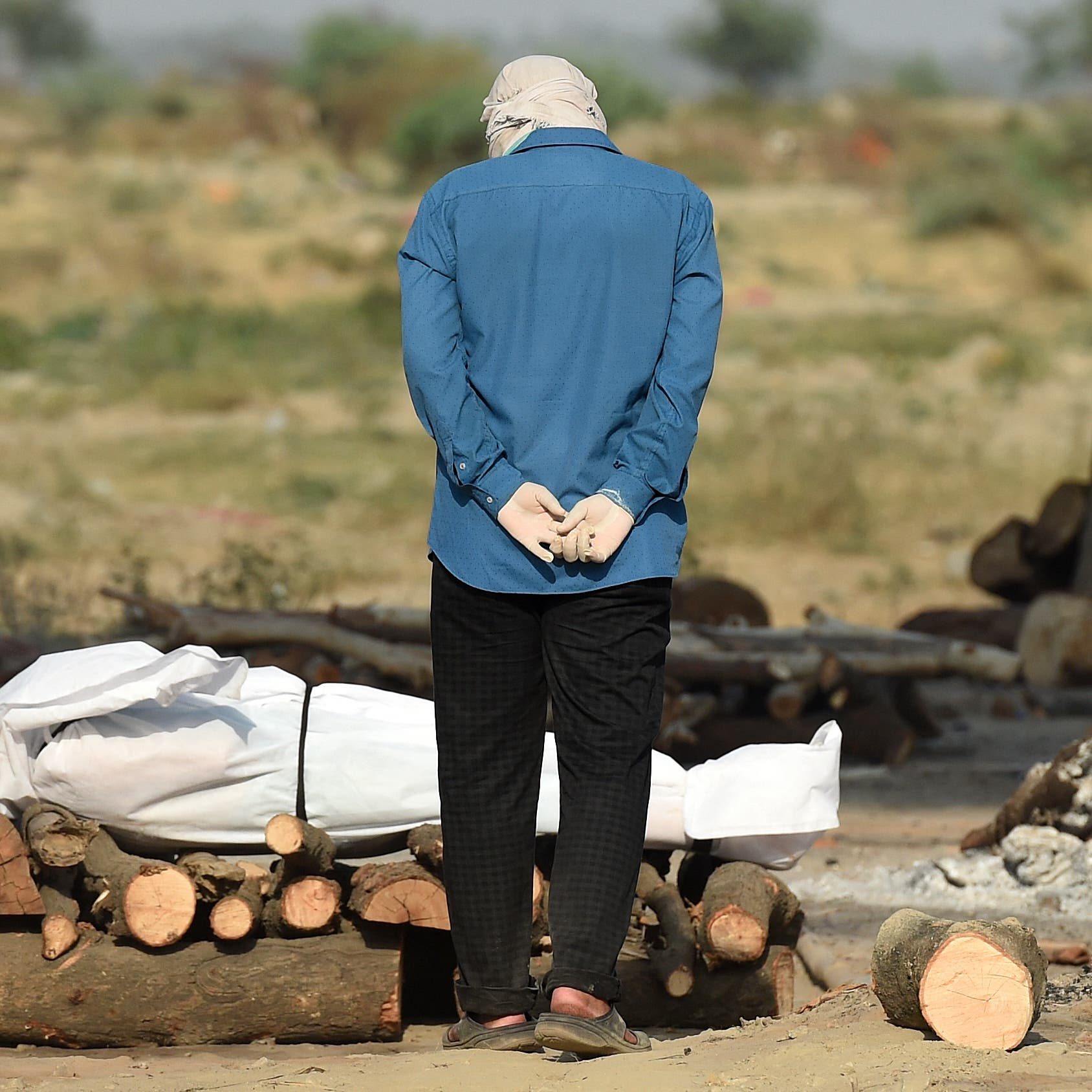 الهند تسجل نحو نصف إصابات العالم وربع وفياته بأسبوع