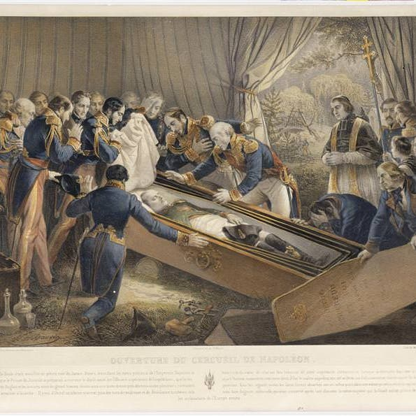 هكذا فُتح قبر نابليون.. ودفن بوطنه بعد 20 عاما