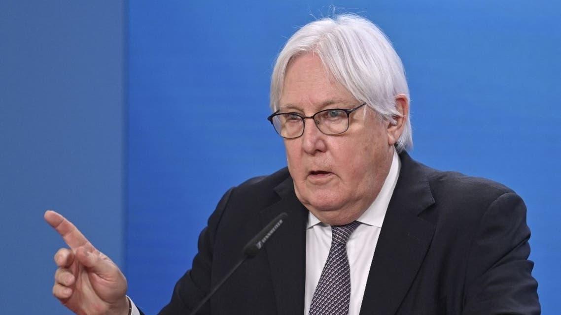 المبعوث الخاص للأمين العام للأمم المتحدة إلى اليمن، مارتن غريفيثس