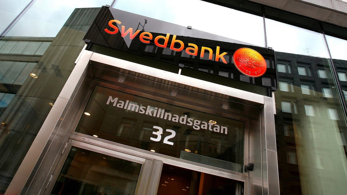FILE PHOTO: A Swedbank branch located in downtown Stockholm is seen. (File Photo: Reuters)