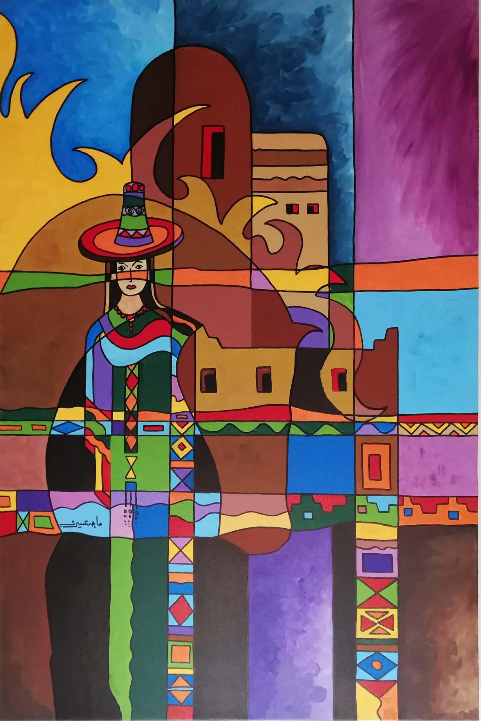 ماجد العسیری کے فن کا ایک اور نمونہ