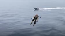 حلم الرجل الحديدي.. البحرية البريطانية تكشف عن نماذجحقيقية!