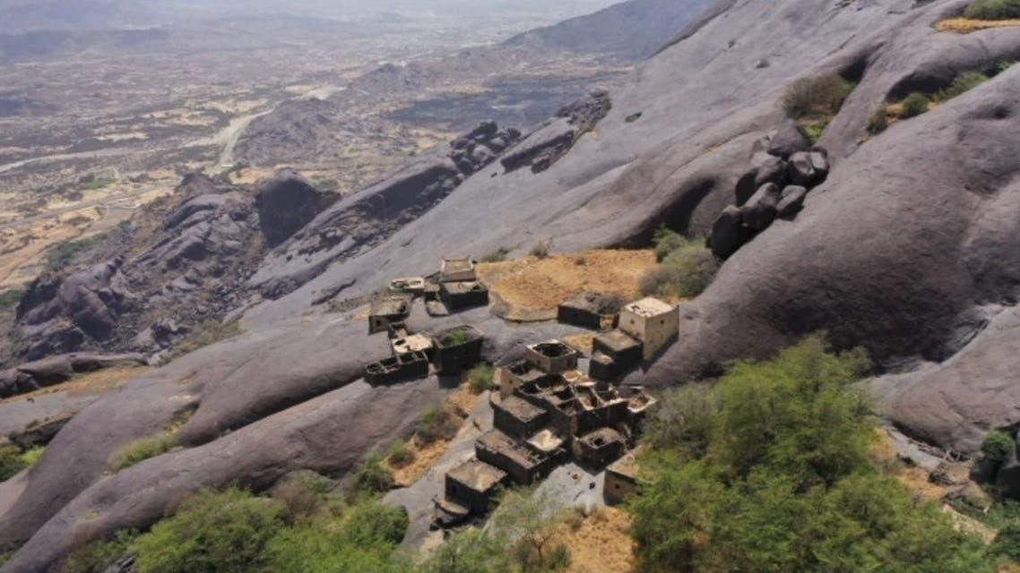 مناظر روستای غیه در سعودی