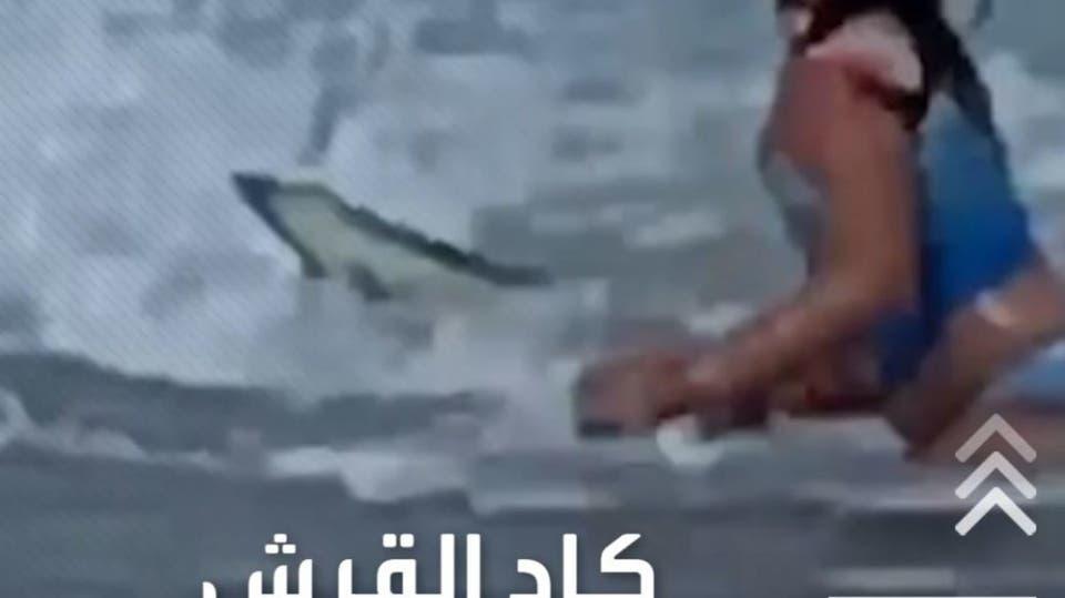 في مشهد يحبس الأنفاس، نجت طفلة من فكي سمكة قرش هاجمتها، على أحد شواطئ هاواي في أميركا