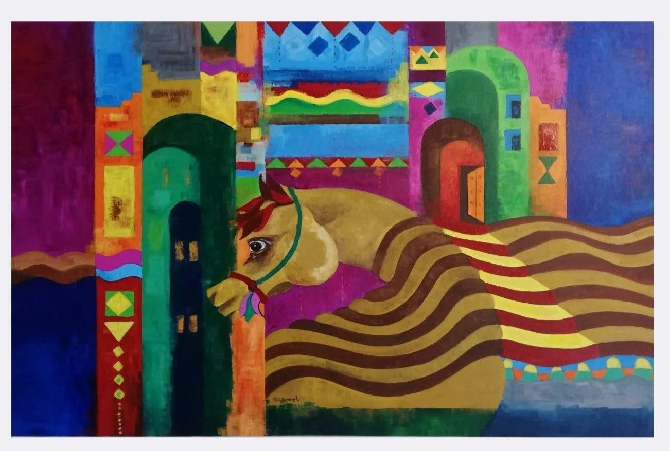 ماجد کے فن کا ایک اور نمونہ