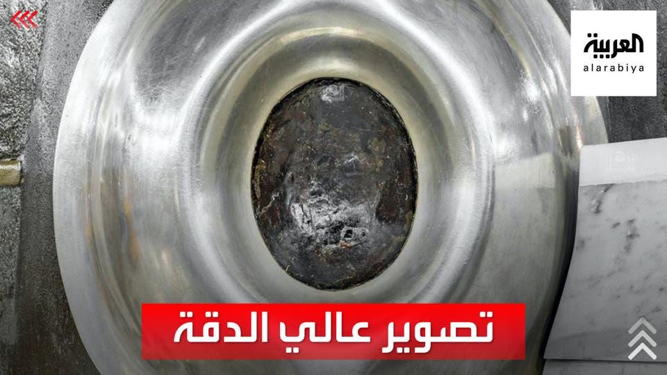 صور نادرة وعالية الدقة للحجر الأسود ومقام النبي إبراهيم
