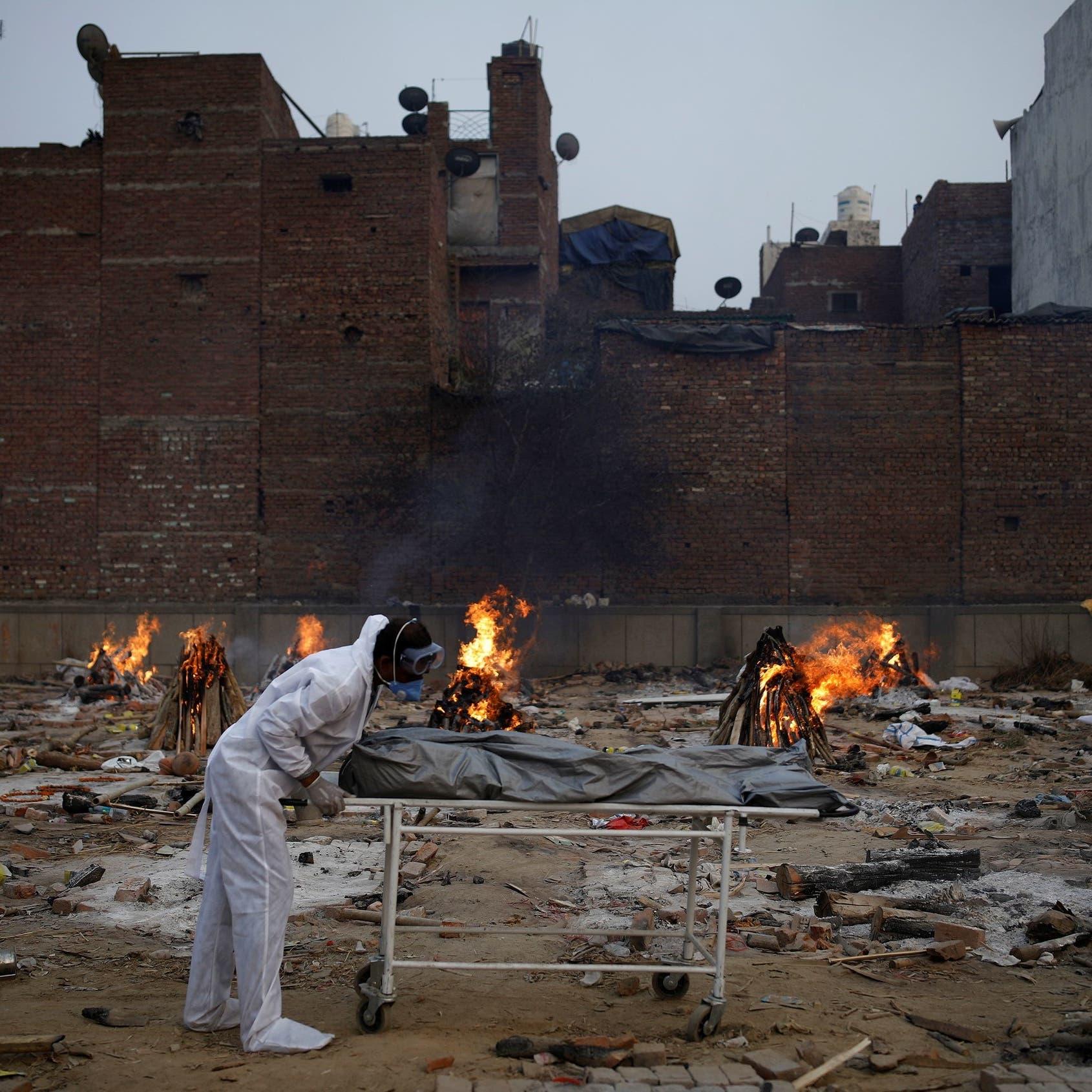 الهند تصارع كورونا.. نحو 4000 وفاة و400 ألف إصابة بـ24 ساعة