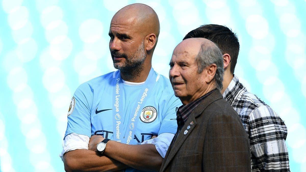 والد غوارديولا لا يستبعد عودة ابنه إلى برشلونة