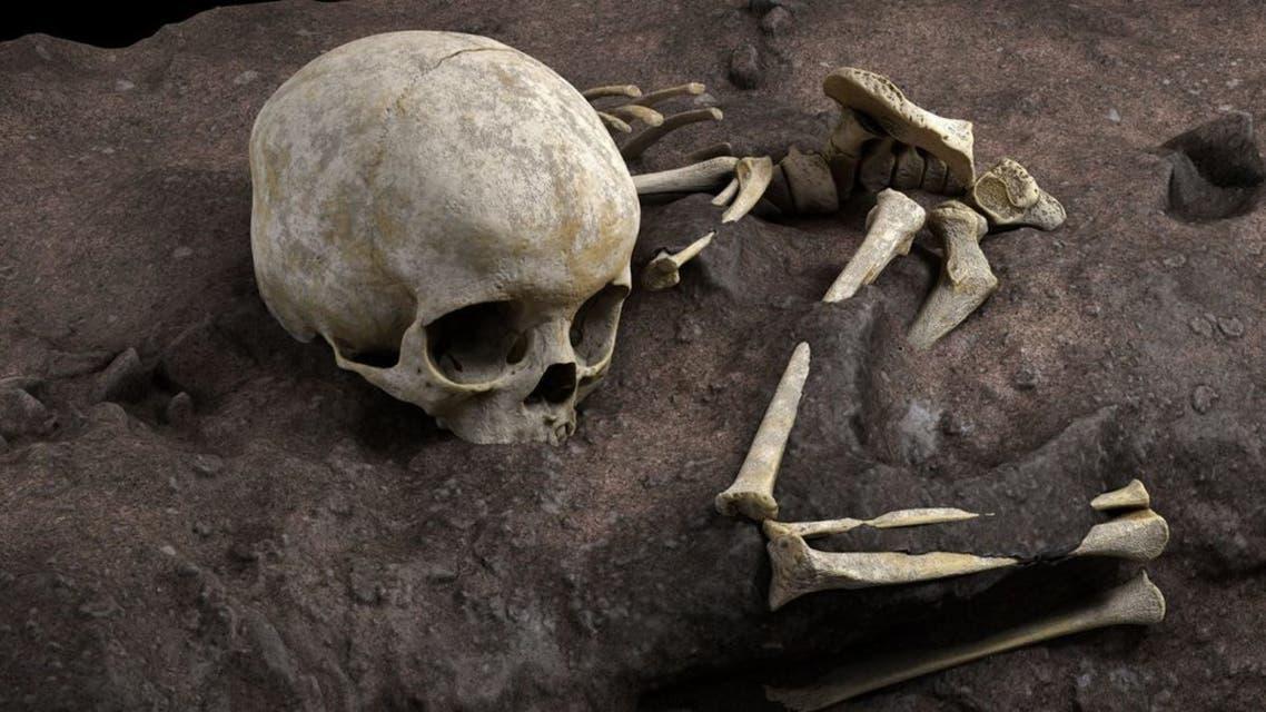 أقدم دفن بشري بإفريقيا