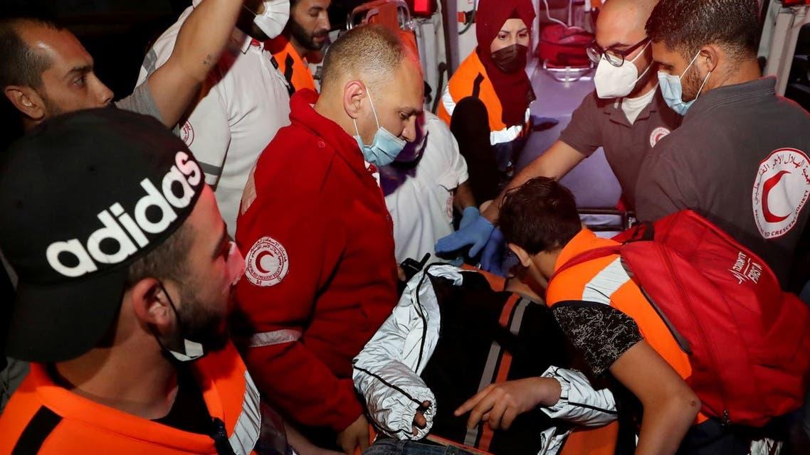اشتباكات بين الشرطة الإسرائيلية وفلسطينيين في حي الشيخ جرا