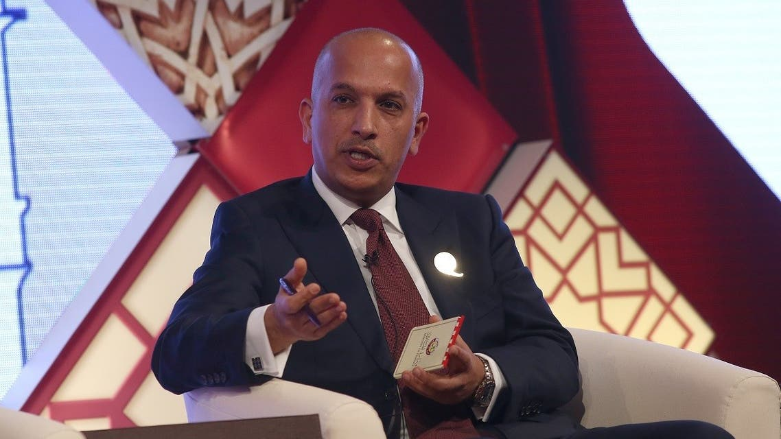 Qatar's Minister of Finance Ali Sherif Al Emadi speaks at the Qatar UK Business and Investment Forum in London. (File Photo: Reuters)